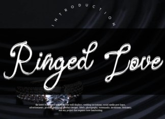 Ringed Love Font