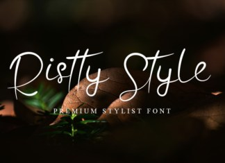 Ristty Style Font