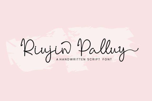 Riujin Palluy Font