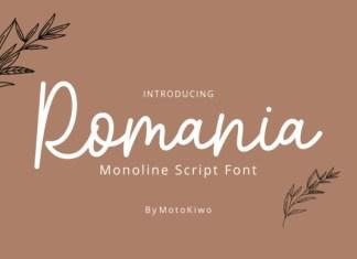 Romania Font