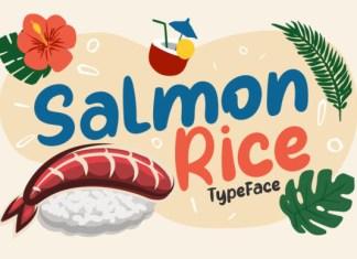 Salmon Rice Font