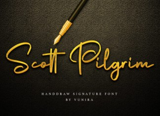 Scott Pilgrim Font