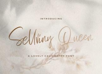 Sellviny Queen Handwritten Font