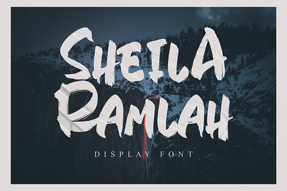 Sheila Ramlah Font