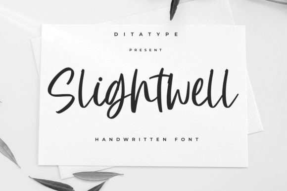 Slightwell Font