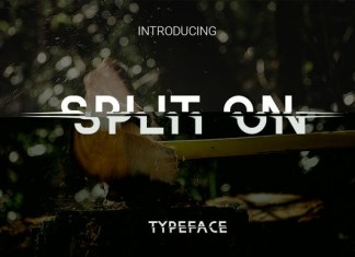 Split on Font