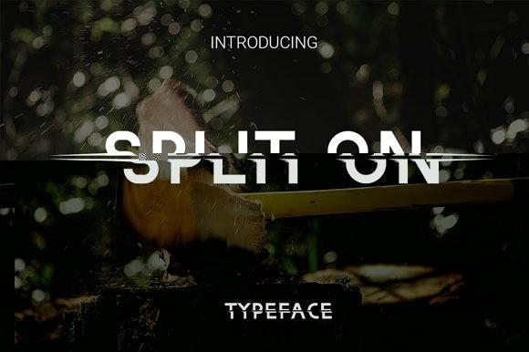 Split on Font