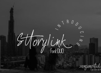 Sttorylink Font