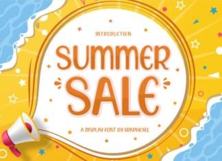 Summer Sale Font