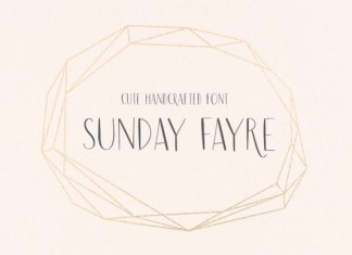 Sunday Fayre Font