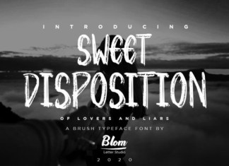Sweet Disposition Font