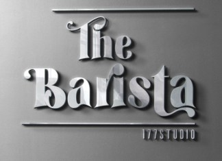 The Barista Font