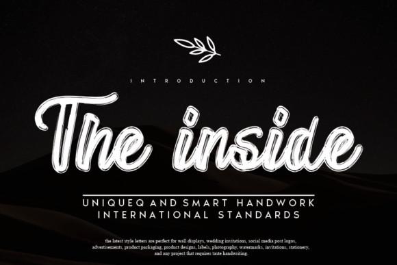 The Inside Font