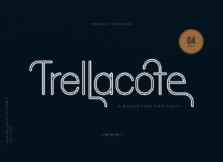 Trellacote Font