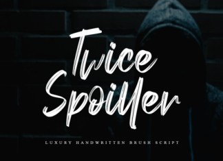 Twice Spoiller Font