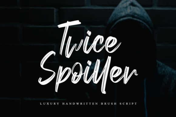 Twice Spoiller Font