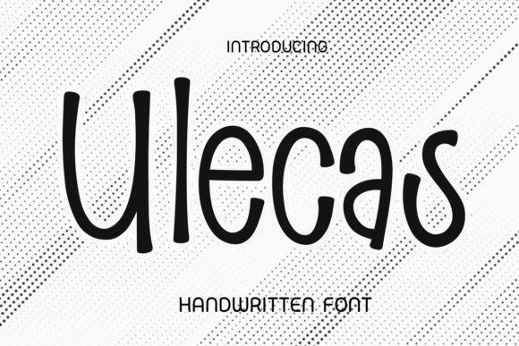 Ulecas Font