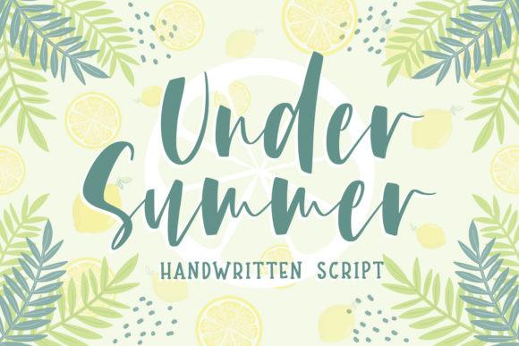 Under Summer Font