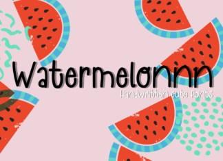 Watermelonnn Font