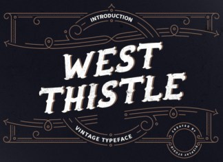 West Thistle Font