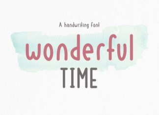 Wonderful Time Font