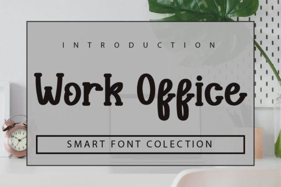 Work Office Font
