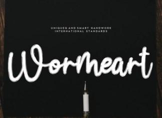 Wormeart Font