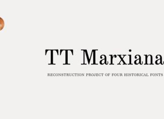 TT Marxiana Font