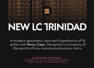 LC Trinidad Font