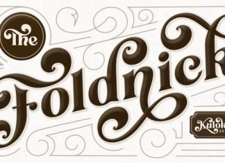 The Foldnick Font