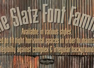 Slatz Font