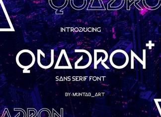 Quadron Font