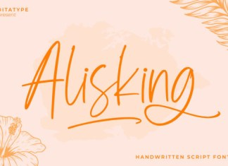 Alisking Font