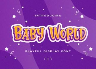 Baby World Font
