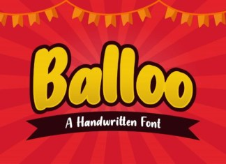 Balloo Font