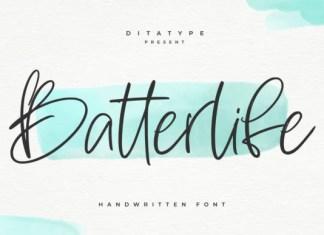 Batterlife Font