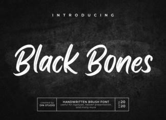 Black Bones Font