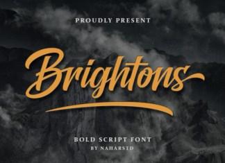 Brightons Font