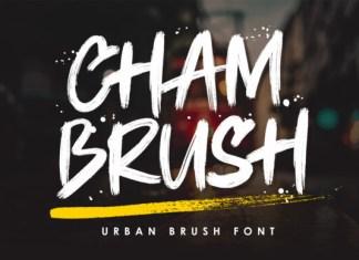 Chambrush Font