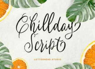 Chillday Script Font