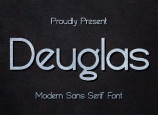 Deuglas Font