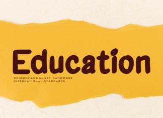Education Font
