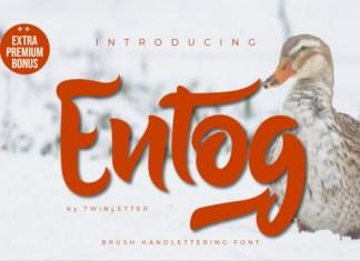 Entog Font