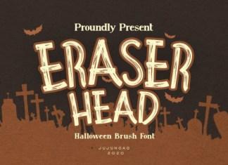 Eraser Head Font