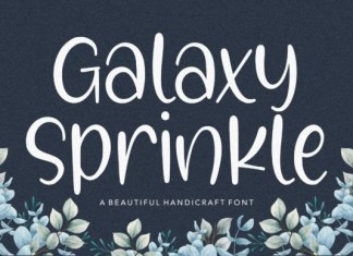 Galaxy Sprinkle Font