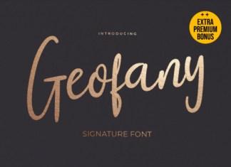 Geofany Font