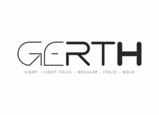 Gerth Font