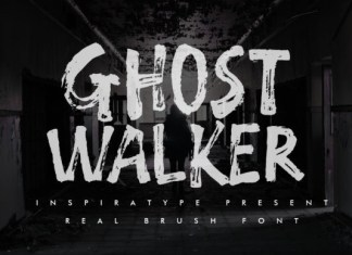 GHOST WALKER Font