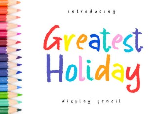 Greatest Holiday Font