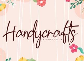 Handycrafts Font